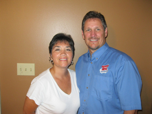 Ed and family with Heaven's Best Carpet Cleaning in Jackson TN